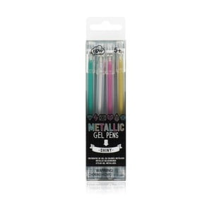 Sada 4 gélových pier NPW Metallic Gel Pen