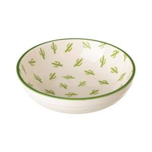 Porcelánová miska Unimasa Kaktus, 39×12,6 cm