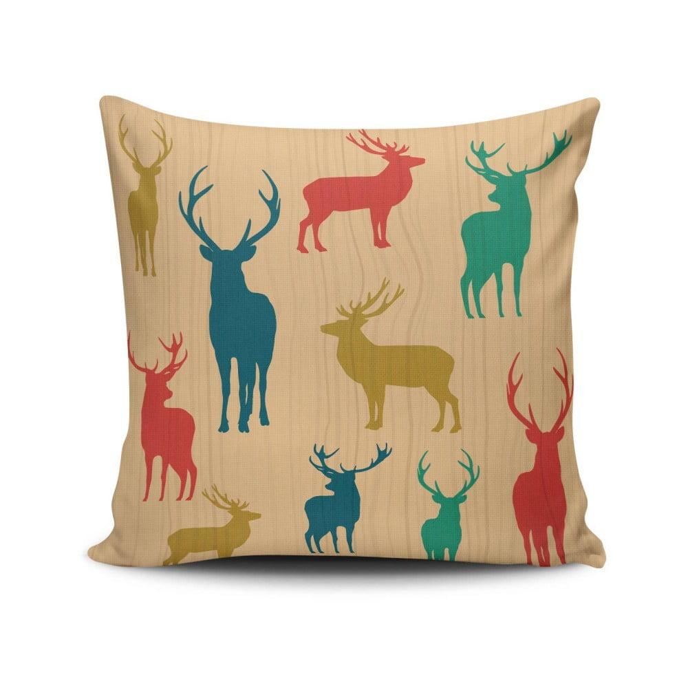 Vankúš Deers, 45 x 45 cm