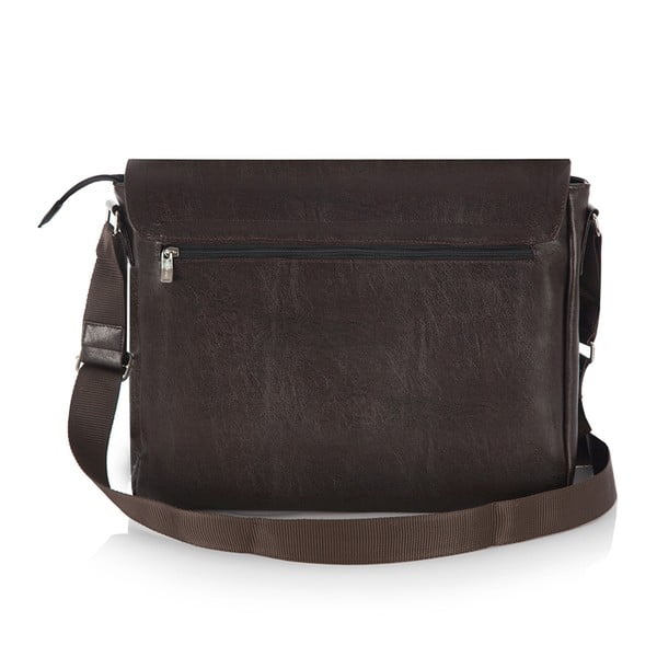 Pánska taška Solier S11, hnedá