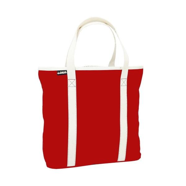 Plátená taška Patt Bag, červená