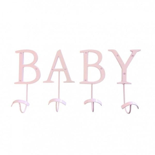 Dekoratívny vešiak Baby Pink
