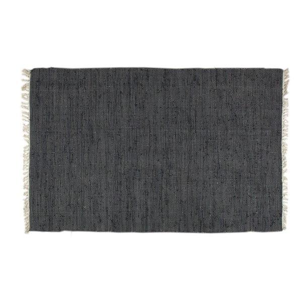 Koberec Plain Black, 140x200 cm