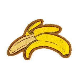 Rohožka z kokosových vlákien Fisura Felpudo Banana, 45×70 cm