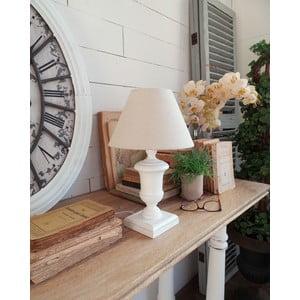 Stolná lampa Antique White, 22x36 cm