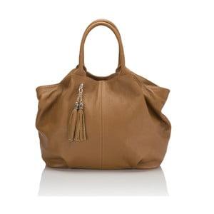 Kožená kabelka Markese 5021 Cognac