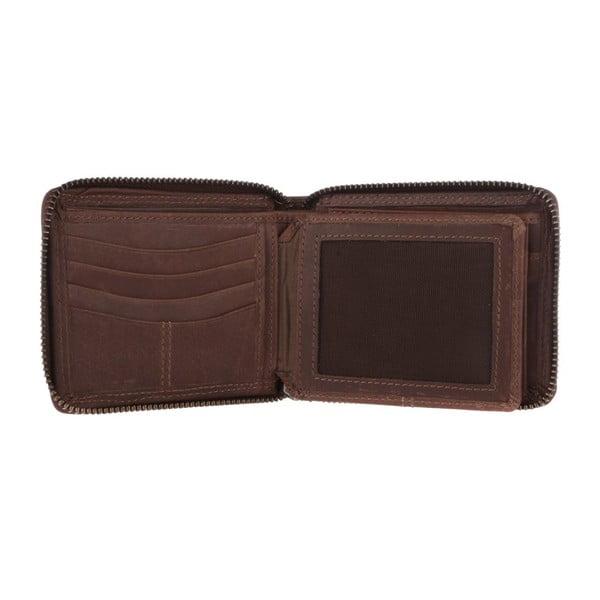 Kožená peňaženka Chief Conker Brown