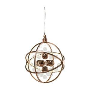 Stropné svietidlo vo farbe medi Kare Design Universum Copper