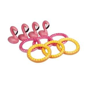 Hra hádzanie krúžkov Sunnylife Flamingo