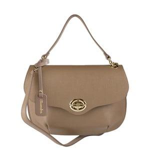 Béžová kožená kabelka Maison Bag Amber
