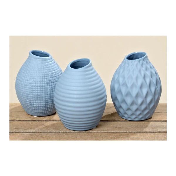 Sada 3 váz Nova Blue
