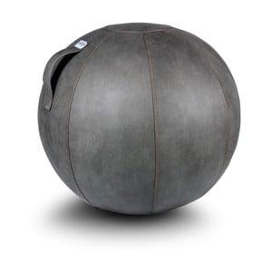 Sivá lopta na sedenie VLUV, 65cm