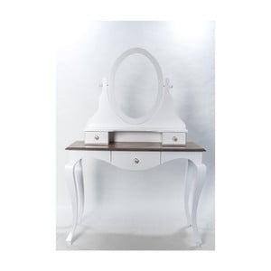 Toaletný stolík se zrkadlom Victoria, 110x54x164 cm