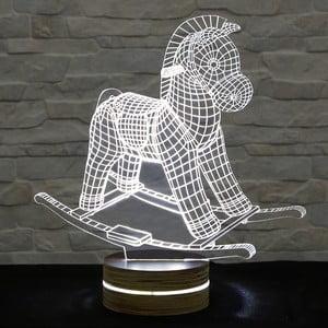 3D stolová lampa Horse