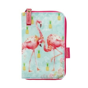 Peňaženka na zips Tropical Flamingos