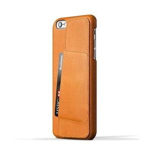 Peňaženkový obal Mujjo na telefon iPhone 6 Plus Tan