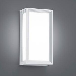 Záhradné nástenné svetlo Timok White, 29 cm