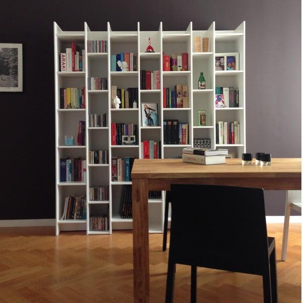 Biela knižnica DeEekhoorn Grenen, základný modul