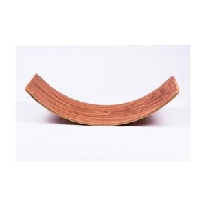 Hnedá buková hojdacia doska Utukutu, dĺžka82 cm