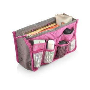 Ružový cestovný organizér s 13 vreckami Bonita Travel