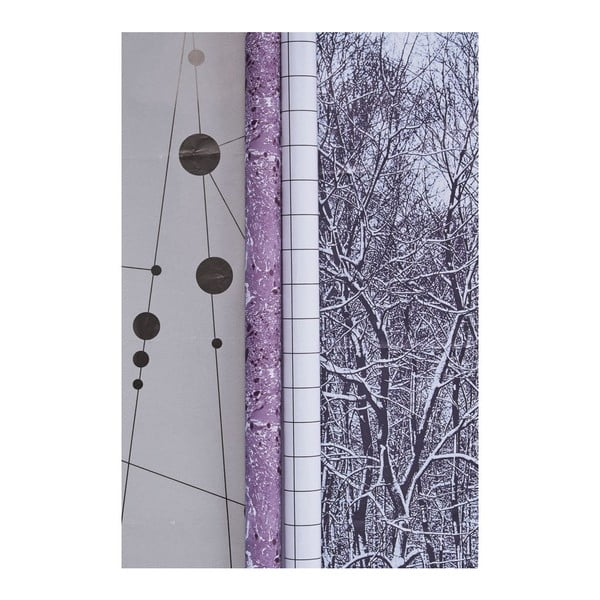 Sada 2 rolí baliaceho papiera Seasons vol. 1, 0,7x5 m