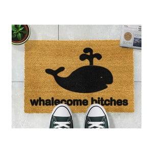 Rohožka Artsy Doormats Whalecome Bitches, 40x60cm