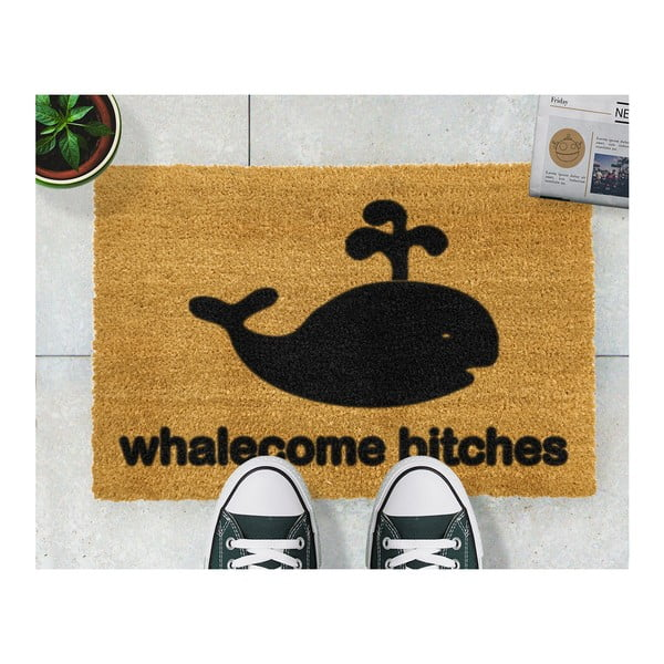 Rohožka Artsy Doormats Whalecome Bitches, 40 x 60 cm