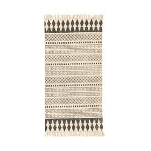 Hnedý koberec Cotex Masivo, 70 × 140 cm