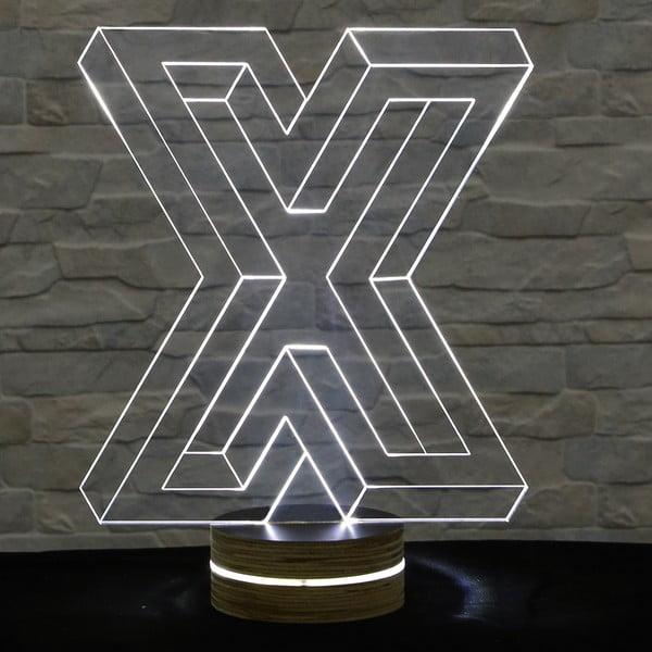3D stolová lampa Big X