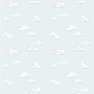 Tapeta na stenu Dekornik Clouds Blue, 50 x 280 cm