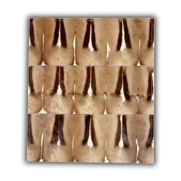 Koberec z pravej kože Springbok, 120x180 cm