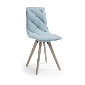 Svetlomodrá jedálenská stolička La Forma Tuk