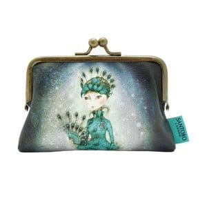 Obojstranná listová kabelka Santoro London Mirabelle Miss Peacock