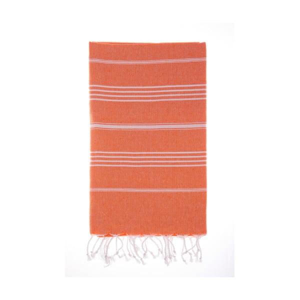 Hamam osuška Cesme Orange, 100x180 cm