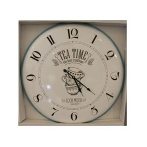 Nástenné hodiny Brandani Tea Time