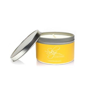 Sviečka s vôňou citrónovej trávy Skye Candles Container, dĺžka horenia 30 hodín