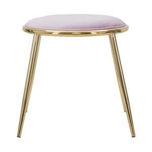 Svetlo-ružová stolička Mauro Ferretti Emily, ⌀ 45 cm