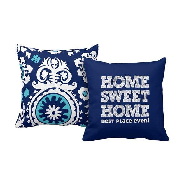 Set 2 vankúšov Home Blue, 43x43 cm