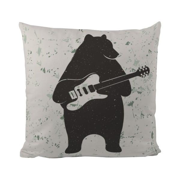 Vankúš Butter Kings Bear and Guitar, 50x50 cm