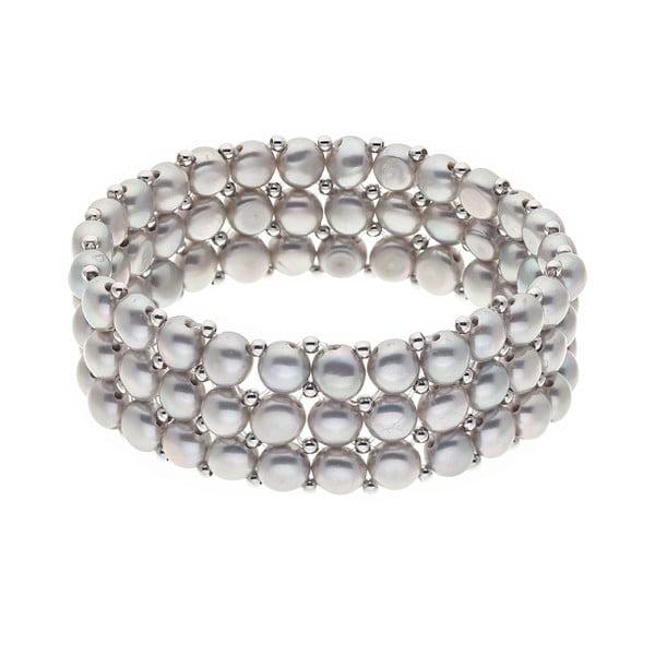 Náramok s riečnymi perlami Poulios
