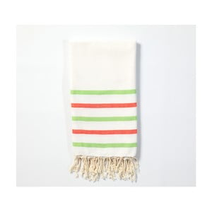 Hammam osuška z ručne tkanej bavlny ZFK Bastian, 170 x 100 cm