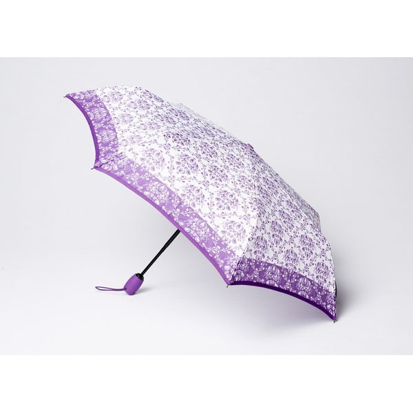 Skladací dáždnik Damask, fialový