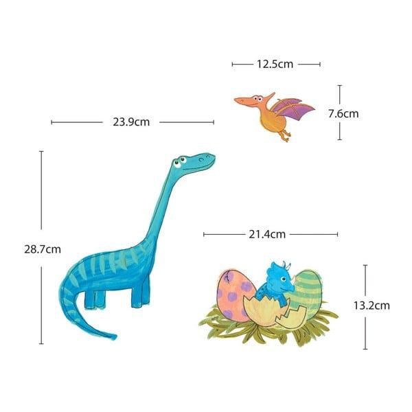 Samolepka Colourful Dino