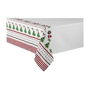 Obrus s vianočným motívom Ladelle Very Merry, 265 x 150 cm