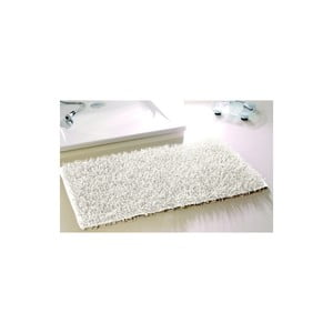 Kúpeľňová predložka Metallic Look White, 50x70 cm