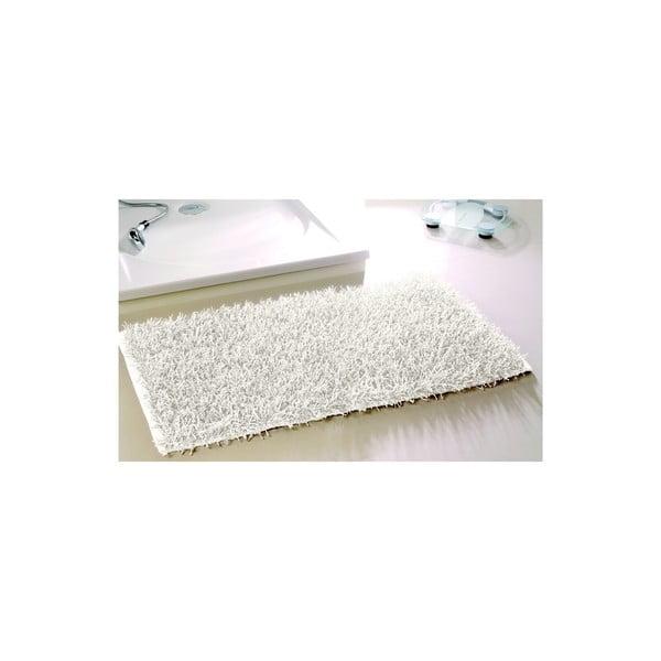 Kúpeľňová predložka Metallic Look White, 60x100 cm