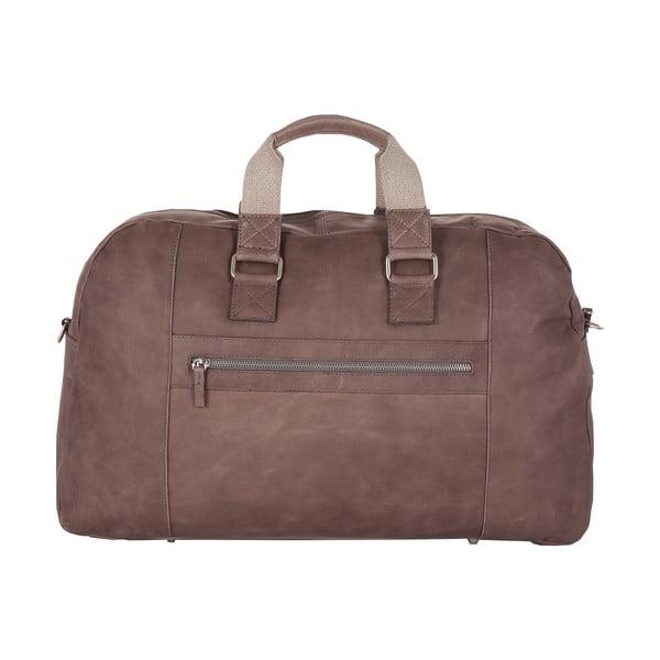 Pánská cestovná taška Vintage Overnight Grey