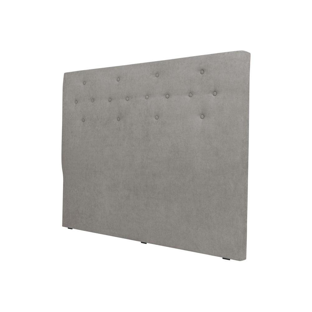 Sivé čelo postele Windsor & Co Sofas Phobos, 160 × 120 cm