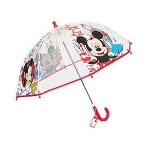 Detský dáždnik Ambiance Mickey Rouge