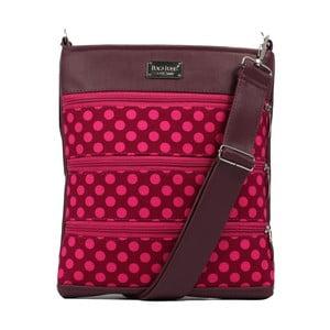 Ružová kabelka cez rameno Dara bags Darian Middle No. 1161